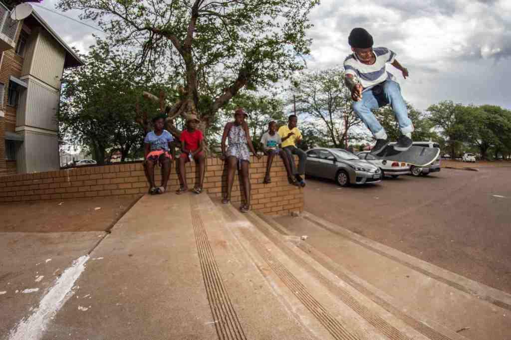 Kagiso Leburu-BS flip in Gaborone, Botswana
